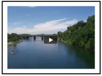 Lower American River Rafting Video