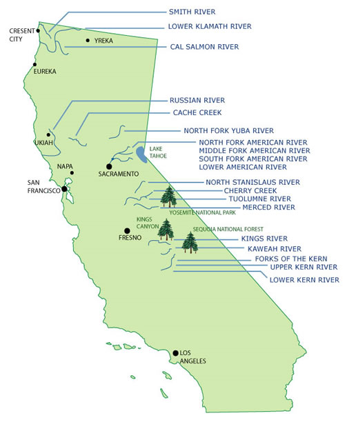 HOME Rivers Multimedia Gear Types of Trips California Outfitters ...