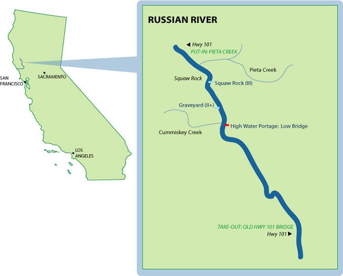 Russian River Mile-By-Mile